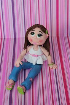 little girl fondant tutorial