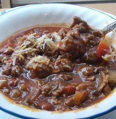 A Little Bit of This A Little Bit Of That Chili -- The best Chili recipe you will ever have. My Husband is soooo happy!