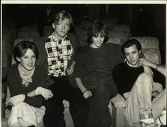 Molly Ringwald, Anthony Michael Hall, Ally Sheedy & Judd Nelson on Jan. 1, 1990.