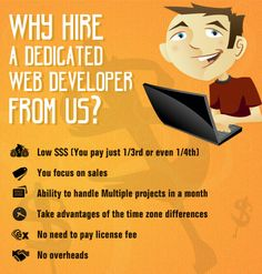 What are the advantages of your own dedicated web developer who works from offshore - Its not just the cost!