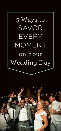 As any bride or groom will tell you, the big day flies by in the blink of an eye. Check out @weddingwire's tips for making every moment count! {GB Photographers} #weddingadvice