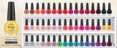 OPI Nail Polish Color Chart | ... nail polish! The colors will be released under the Nicole by OPI brand