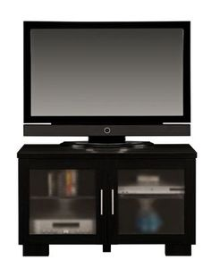 TV stand with doors so our little men wont keep turning off the consoles :)