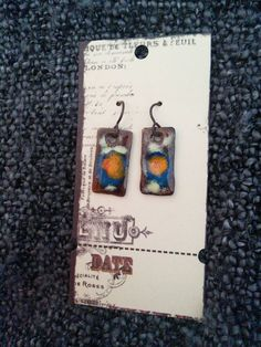 Check out this item in my Etsy shop https://www.etsy.com/listing/226163824/hand-crafted-fire-torch-enamel-earrings