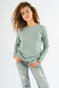 a7dcd83408ab Ella fit cypress pistachio paisley. Pistachio, Tees, Cotton, Sweatshirts,  Sweaters, Fitness, How To Wear, Long Sleeve ...