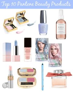 Top 10 Pantone Beauty Products!