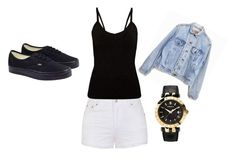 """Untitled #33"" by awesthoff0513 on Polyvore featuring Ally Fashion, Levi's, Vans and Versace"
