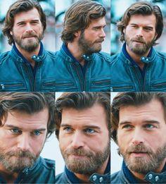 Growing Long Hair Men, Grow Long Hair, Mans World, He's Beautiful, Turkish Actors, Che Guevara, Crime, Wattpad, King