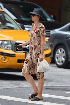 Maggie Gyllenhaal - Out and about in New York City - August 4, 2014 #MaggieGyllenhaal