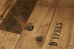 A highly unusual Oak floor, these Parador Seaport planks give the impression of being made from reclaimed shipping timbers. An oiled oak flooring.