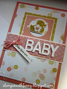 stampin up something for baby lullaby schlaflied beeindruckende buchstaben little letters teeny tiny sentiments kleine wünsche match the sketch