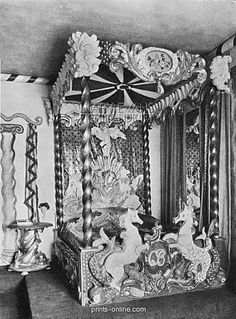 CECIL BEATON'S CIRCUS FOLLY BED