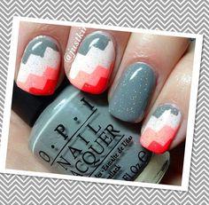 Super cute nail design  Free Nail Technician Information!!!!!!!!  http:// | Nail cute nail designs