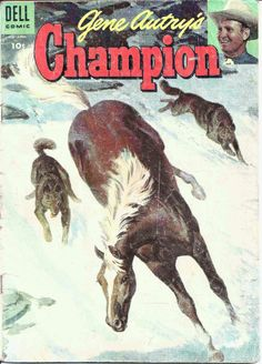 Vintage Gene Autry's Champion # 17 Feb. - April, 1955 Dell Comic Book Western #comicbooks #collectibles #Collectiblecomics #comiccollecting #nostalgia #ebay #ebaydeals #western #westerncollectibles #oldwest #horses #onlineshopping