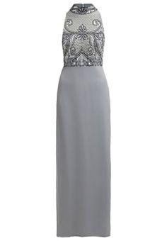 Saris, Beaded Lace, Anarkali, Beads, Formal Dresses, Grey, Fashion, Princess, Ball Gown