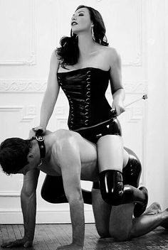 """This is a tumbrl for classy Female Domination photos. Because femdom is not necessarily """"cheap"""" and B-class. Touch Of Gray, Female Supremacy, Modern Man, Mistress, Kinky, Dame, Classy, Sexy, How To Wear"""