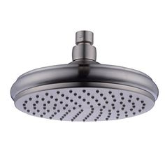 HANEBATH 8 Inch Fixed Rain Shower Head , Brushed Nickel Finished ** To view further for this item, visit the image link.