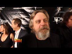 Star Wars: Dishing With Luke Skywalker & Princess Leia - YouTube