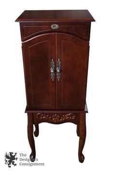 Sumter Cabinet Co 1970s Distressed Oak Bedroom Nightstand