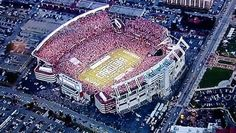 Ts..... Game Day... Williams Brice Stadium... South Carolina.. Home of the fighting Gamecocks..!