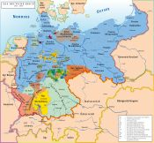 Map of the German EmpireThe Kingdom of Prussia (German: Königreich Preußen) was a German kingdom that constituted the state of Prussia between 1701 and 1918 and included parts of present-day Germany, Poland, Russia, Lithuania, Denmark, Belgium and the Czech Republic