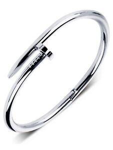 bracelet argent clou