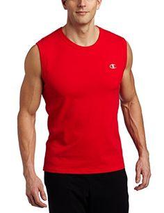Champion Men's Jersey Muscle T-Shirt, Crimson, Medium Champion http://www.amazon.com/dp/B005CSOCMW/ref=cm_sw_r_pi_dp_FUEiwb0ZF56BQ
