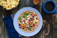 campfire breakfast burrito