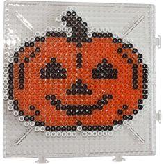 Halloween pumpkin Nabbi perler beads
