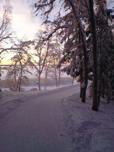 Vaasan talvea ja merenläheisyys