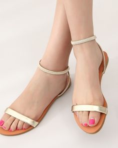 Flat Strap Sandals, Just $29.99  + Free Global Shipping