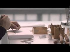 """Le Petit Théâtre Dior ~ Making of """"Miss Dior"""" miniature dress (1949). Video by Dior, 2014"""