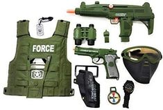 Military Costumes, Army Costume, Arma Nerf, Kids Toys For Christmas, Pistola Nerf, Freddy Plush, Army Vest, Cool Nerf Guns, Power Ranger Party