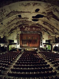 Norwich State Hospital Theater, Norwich, Connecticut
