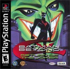 Batman Beyond - Return of the Joker Sony PlayStation cover artwork Video Game Art, Video Games, Dc Comics Games, Return Of The Joker, Pc Engine, Nintendo, Joker Game, Joker Batman, Beat Em Up