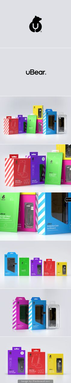 uBear®   #packaging for high end mobile phone, tablet and laptop, Los Angeles, California, by Mash Creative and Paul from Hype Type, Packagingserved