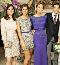 Chabeli, Aba Boyer, Isabel Preysler boda de su hijo Julio José Iglesias y Charisse Verhaert