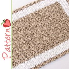 Best 12 Crochet Rectangle Rug - (idk what this one is made out of yet, but you could make a door mat using twine, or thin rope. A regular rug could be from strips of jean or other fabric, kitchen string, or yarn. Crochet Mat, Crochet Video, Crochet Carpet, Crochet Rug Patterns, Bead Crochet, Free Crochet, Knitting Patterns, Crochet Home Decor, Crochet Crafts