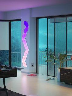 *Werbung* Nanoleaf Aurora   9x Modulare Smarte LED   Lichtpanels Mit App  Steuerung [