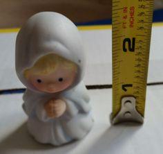 "Avon ""Heavenly Blessings"" vintage 1986  figurine nativity set Mary"