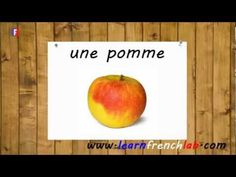 Learn French Fruits. Video lesson to learn vocabulary. http://www.learnfrenchlab.com