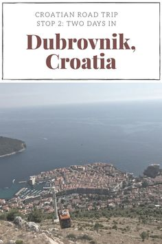 Read my post about my two day stay in the city of Dubrovnik, Croatia. Our time was full of old town exploring, wine drinking, view points and beaching.… #Dubrovnik #Croatia # Travelblogger #Europe