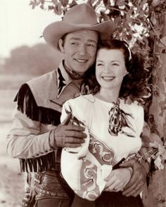 Roy Rogers and Dale Evans. Oh my....I so wanted to be Dale Evans....even had a complete outfit!!!