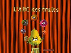 L'ABC des fruits - Apprendre l'alphabet - Learn french - Chanson pour en...