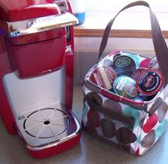 k-cup storage Thirty-one Gifts Canada Littles carry all caddy
