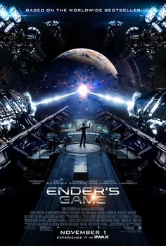 Ender's Game IMAX� Poster | Ender's Game | In Theaters October 31st @ 8pm