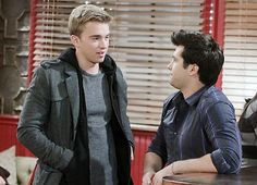 Will and Sonny try to work things out. #DAYS #DOOL