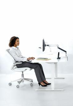 Nasze rekomendacje związane z ergonomia pracy  Chcąc stworzyć ergonomiczne stanowisko pracy, należy kierować się przede wszystkim zasadą, aby to meble były w stanie dopasować się do człowieka, a nie na odwrót.