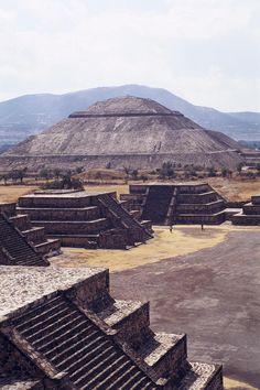 Teotihuacan in México