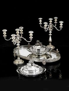 Michael Schumacher, Silver Centerpiece, Centerpieces, Thing 1, Silver Lining, Serveware, Plaque, Antique Silver, Objects